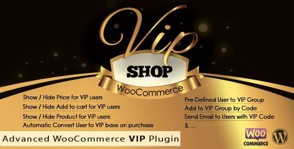 VIP Shop : Advanced WooCommerce VIP Plugin