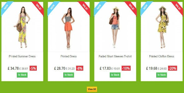 Sale Products - Prestashop Module
