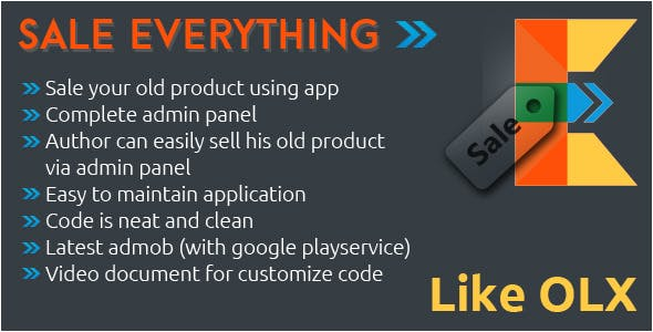 Sell Everything - With Admin panel