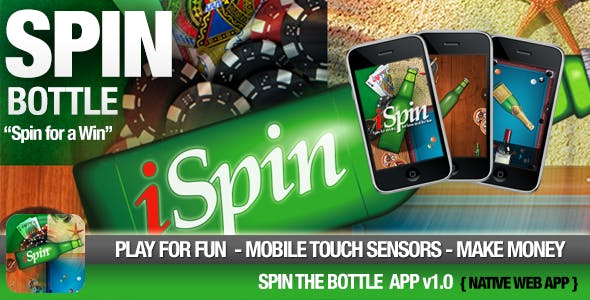 Spin the Bottle Game - Win with a Spin