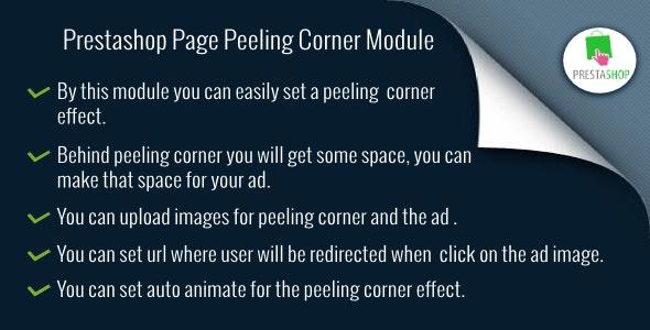 Prestashop Page Peeling Corner - CodeCanyon Item for Sale