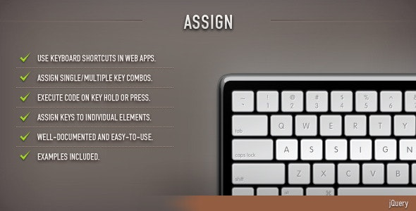 Assign (jQuery) - CodeCanyon Item for Sale