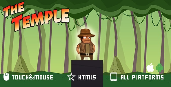 The Temple-html5 game - CodeCanyon Item for Sale