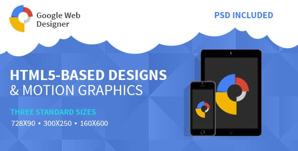 Google Web Design | HTML 5 Animated Banner Two