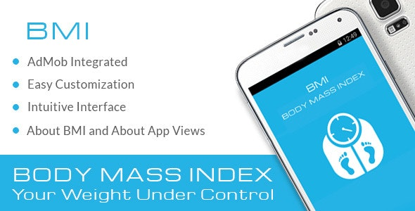 BMI Body Mass Index with AdMob - CodeCanyon Item for Sale