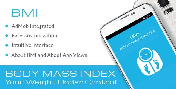 BMI Body Mass Index with AdMob