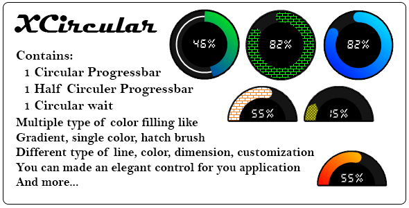 XCircular .Net custom control - CodeCanyon Item for Sale