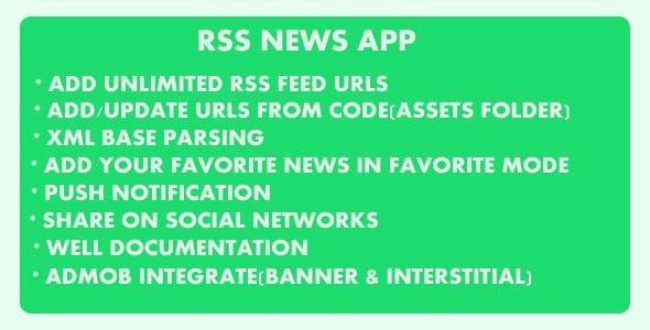 Rss News App