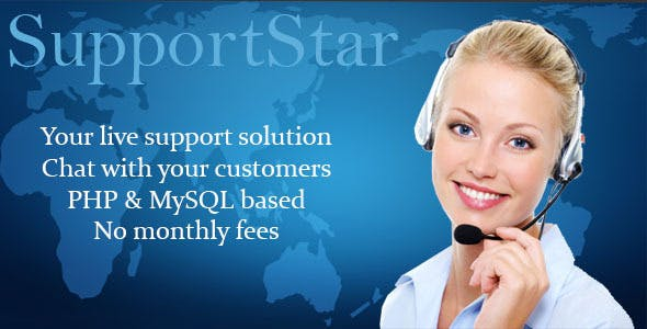 SupportStar - Live chat