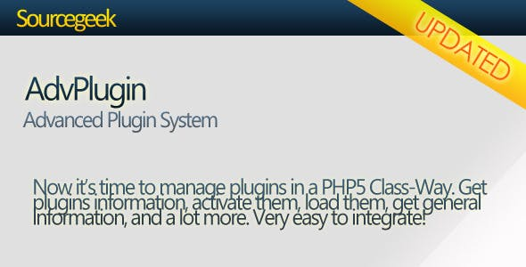 AdvPlugin - Advanced Plugin System