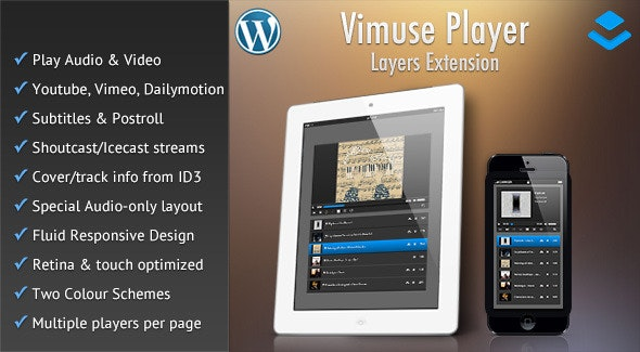 Vimuse Media Player - Layers Extension - CodeCanyon Item for Sale