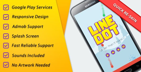 LineDot - Leader + Achievements + IAP + Share