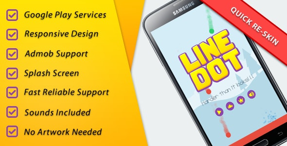 LineDot - Leader + Achievements + IAP + Share - CodeCanyon Item for Sale