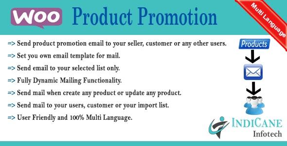 WooCommerce Product Promotion / Reminder - CodeCanyon Item for Sale
