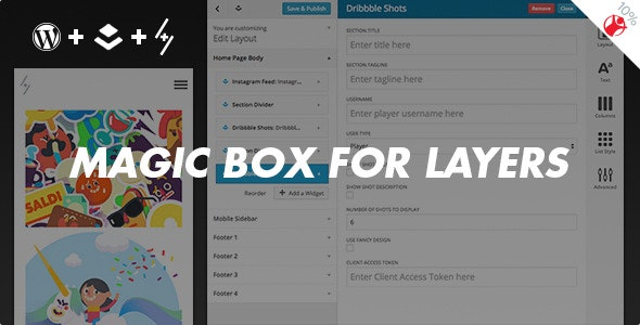Magic Box - Customization Pack for Layers - CodeCanyon Item for Sale