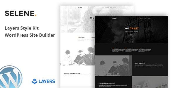 Selene - Layers WordPress Style Kit - CodeCanyon Item for Sale