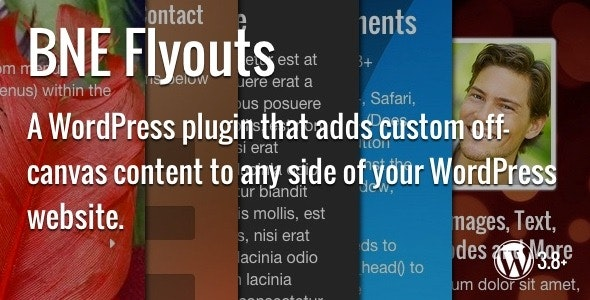Flyouts - Off Canvas Custom Content for WordPress - CodeCanyon Item for Sale