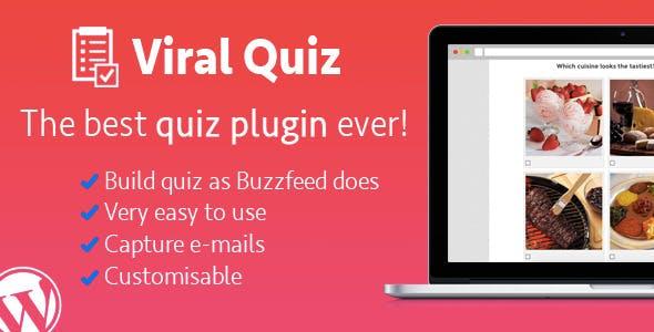 Wordpress Viral Quiz – BuzzFeed Quiz Builder        Nulled