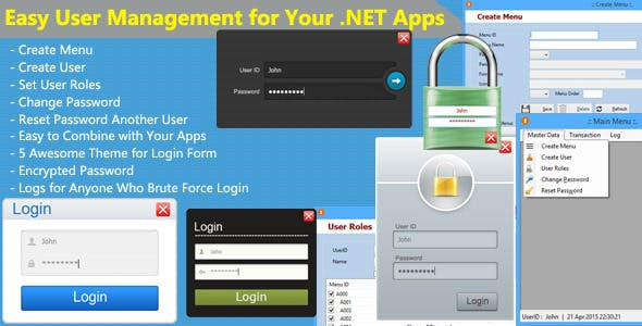 Easy User Management for Your .NET Apps