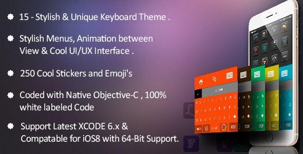 Stylish keyboard skins - CodeCanyon Item for Sale
