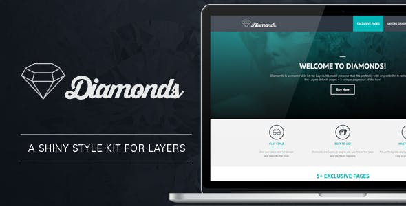 Diamonds - Flat Style kit for Layers - CodeCanyon Item for Sale