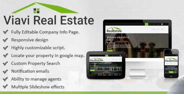 Viavi Real Estate - CodeCanyon Item for Sale