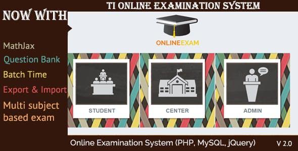 Online Exam Management System Plugins, Code & Scripts