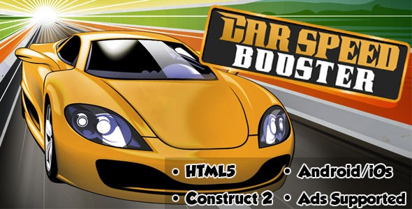 Car Speed Booster - HTML5 Android (CAPX) - CodeCanyon Item for Sale