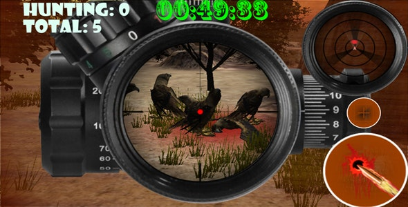 Sniper Birds Hunting Rampage - CodeCanyon Item for Sale
