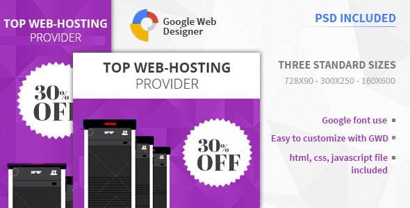 Web Hosting | HTML5 Google Banner Ad