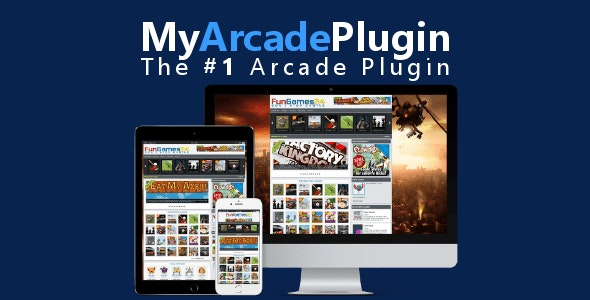 MyArcadePlugin Starter: WordPress Arcade Plugin - CodeCanyon Item for Sale