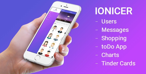 Ionicer - Ionic PhoneGap/Cordova for Ios & Android - CodeCanyon Item for Sale