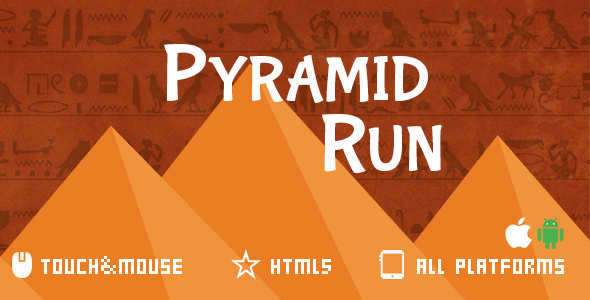 Pyramid Run-Html5 game