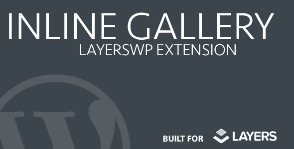 Inline Gallery  - Layers Extension - CodeCanyon Item for Sale