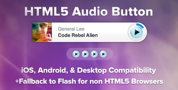 Universal HTML5 Audio Player - CodeCanyon Item for Sale