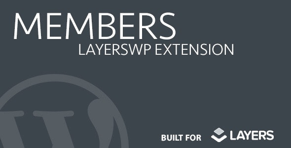 Members  - Layers Extension - CodeCanyon Item for Sale