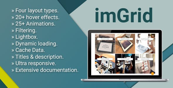 imGrid - Media Grid Responsive Gallery
