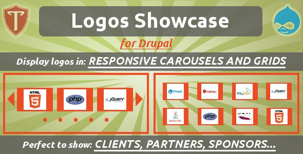 Logos Showcase for Drupal - CodeCanyon Item for Sale