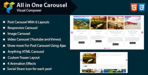 WPBakery Page Builder - All in One Carousel (formerly Visual Composer)
