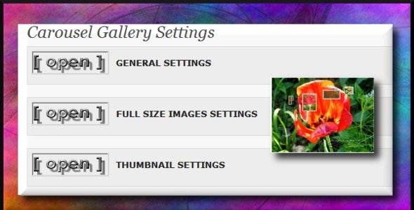 Wordpress carousel gallery - CodeCanyon Item for Sale