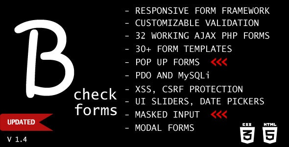 B-check Forms - CodeCanyon Item for Sale