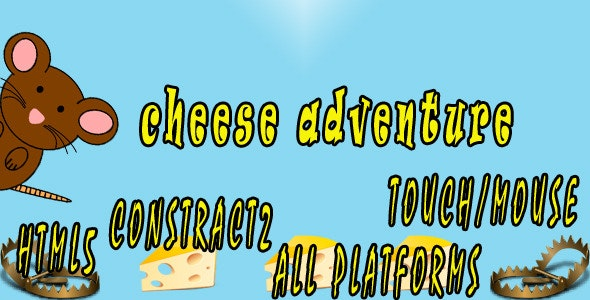 Cheese Adventures - CodeCanyon Item for Sale
