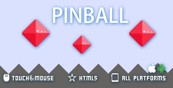 PIN BALL- HTML5 GAME