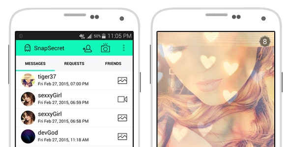 SnapSecret (Snapchat clone) - CodeCanyon Item for Sale