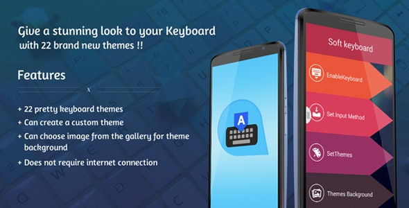 Android Keyboard Themes - CodeCanyon Item for Sale