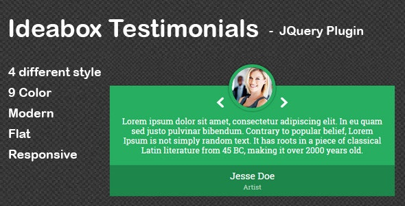 Ideabox - Testimonials - CodeCanyon Item for Sale