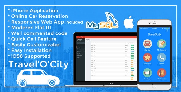 TravelOcity - Car Rental iOS Mobile App - CodeCanyon Item for Sale