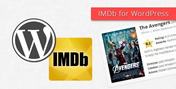IMDb for WordPress
