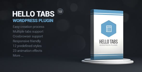 Hello tabs wordpress widget