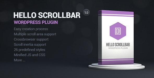 Hello Scrollbar Wordpress Plugin - CodeCanyon Item for Sale